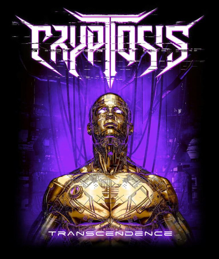 Cryptosis - Transcendence shirt purple detail print