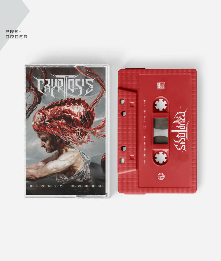 Cryptosis - Bionic Swarm Limited Red Cassette Tape