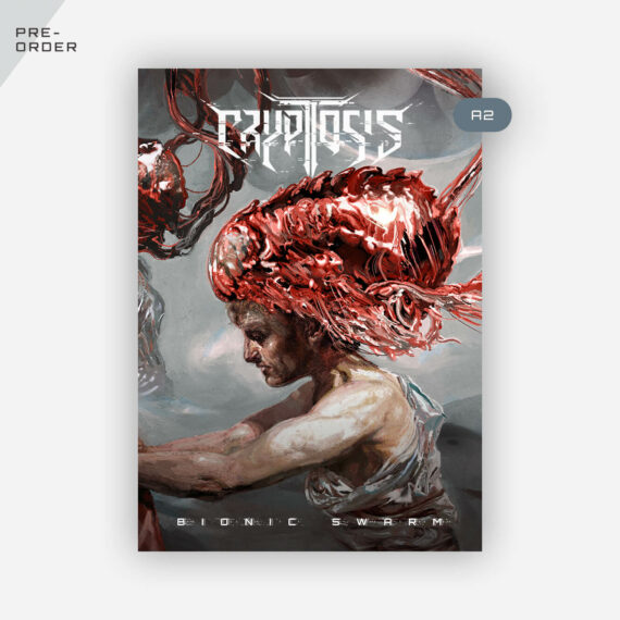 Cryptosis - Bionic Swarm A2 size poster full color
