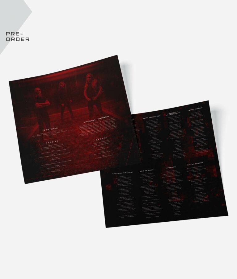 Cryptosis - Bionic Swarm - Vinyl inlay sheet